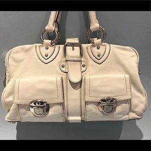 Beautiful Marc jacobs off-white leather bag
